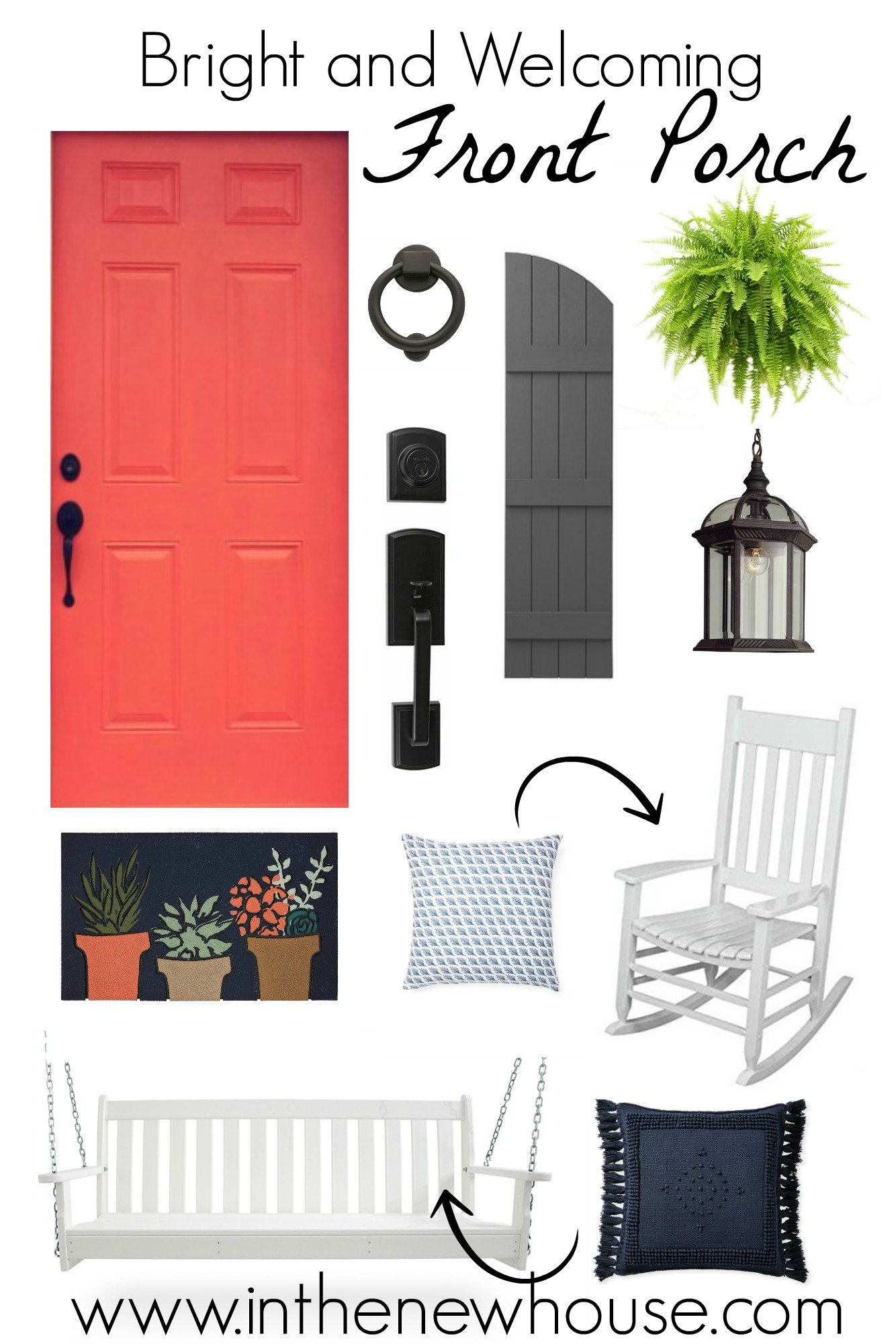 Front Porch Clipart welcoming front porch style board - in the new house designs